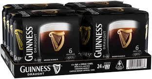 GUINNESS Draught Bier Case 24 x 500 ml / 4.2 % Irland
