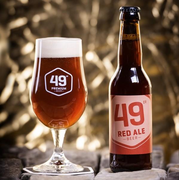 49 er Premium Bier RED ALE Kiste 330 ml / 5.3 % Schweiz