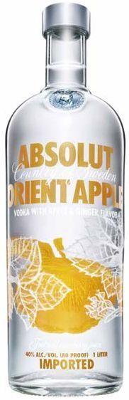 Absolut Vodka ORIENT APPLE 1 Liter / 40 % Schweden