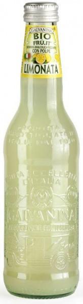 GALVANINA BIO Fru.it LIMONATA 12 x 355 ml Italien