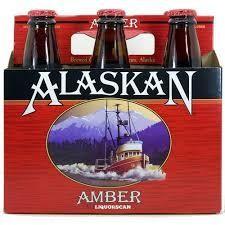 ALASKAN Amber Bier Case 24 x 355 ml / 5 % Alaska