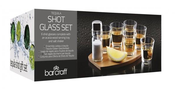 Tequila Shot Geschenk Set mit 8 Gläsern by BarCraft