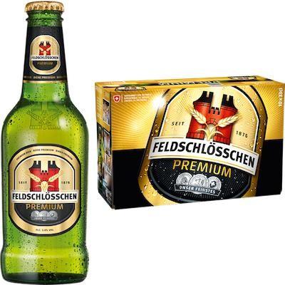 Feldschlösschen PREMIUM Bier 330 ml / 5 % Schweiz