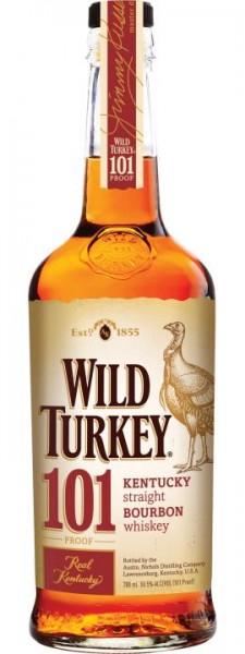 WILD TURKEY 101 OVERPROOF Kentucky Straight Bourbon Whiskey 70 cl / 50.5 % USA