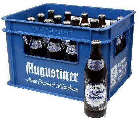Augustiner HEFE - WEISSBIER 20 x 500 ml / 5.4 % Deutschland