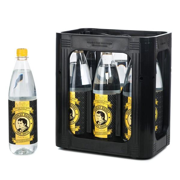 Thomas Henry Tonic Water Kiste 6 x 1 Liter PET Deutschland