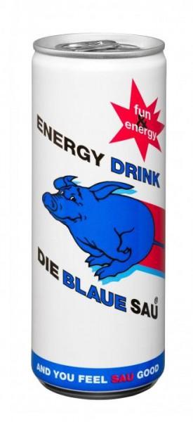 Die BLAUE SAU Energy Drink 250 ml Österreich