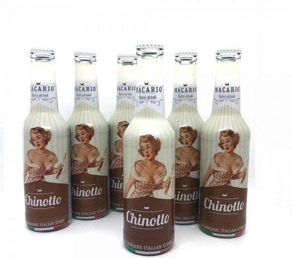 Macario CHINOTTO Retro Drink Kiste 24 x 275 ml Itailen