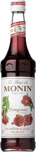 MONIN Premium Pomegranate / Grenade Sirup 70 cl Frankreich