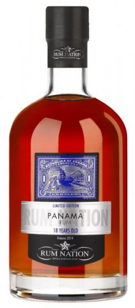 Rum Nation Panama 18 Jahre 70 cl / 40 % Panama