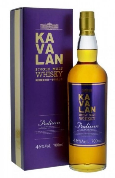 KAVALAN PODIUM Single Malt Whisky 70 cl / 46 % Taiwan