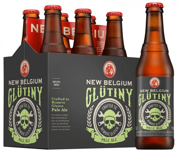 GLÜTINY New Belgium Pale Ale ( Reduced Gluten ) Case 24 x 355 ml / 6 % USA