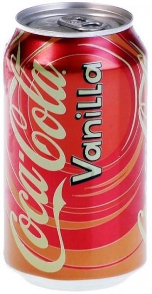 Coca Cola Vanilla 355 ml USA