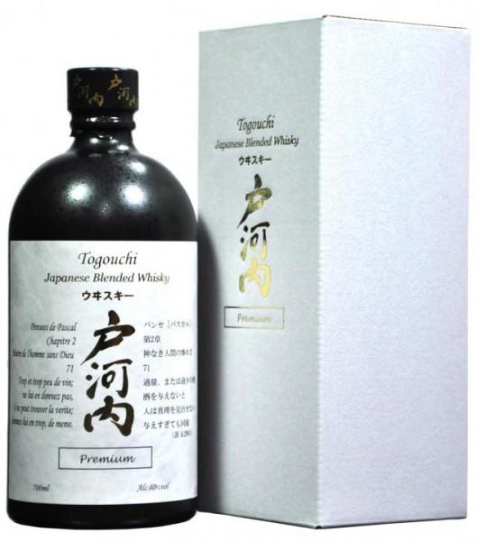 TOGOUCHI Premium Japanese Whisky 70 cl / 40 % Japan