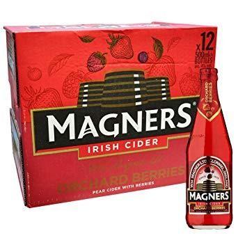 MAGNERS BERRY Irish Cider Case 13 x 568 ml / 4.5 % Irland