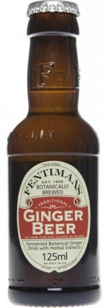 FENTIMANS Ginger Beer 24 x 125 ml UK