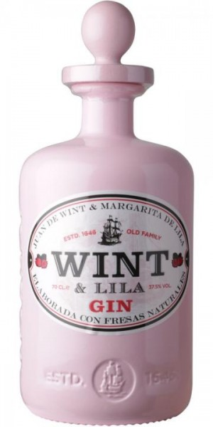 WINT & LILA STRAWBERRY Gin 70 cl / 37.5 % Spanien