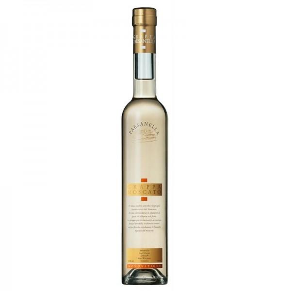 Paesanella Grappa MOSCATO 50 cl / 41 % Italien