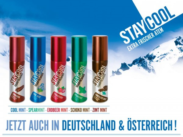 STAY COOL Mundspray SCHOKO MINT 20 ml UK