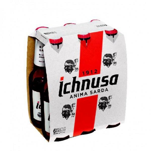 Ichnusa Lager 24 x 330 ml / 4.7 % Italien