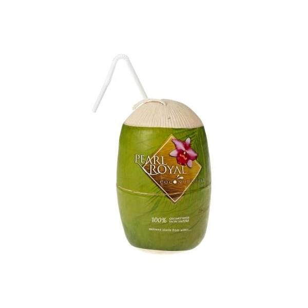 PEARL ROYAL Coconut Water mit Nuss Hülle 310 ml Thailand