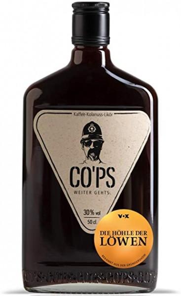CO'PS Kaffee - Kolanuss Likör 50 cl / 30 % Deutschland