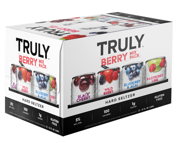 Truly Hard Seltzer BERRY Mix Pack 24 x 355 ml / 5 % USA