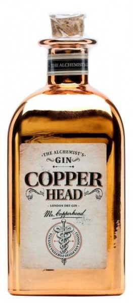 Copperhead London Dry Gin 50 cl / 40 % Belgien