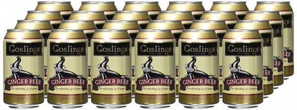 Gosling's Ginger Beer Case 24 x 355 ml USA