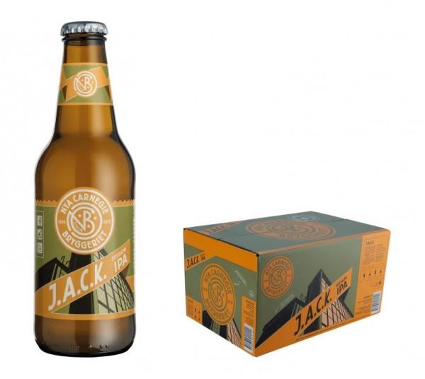 NYA Carnegie J.A.C.K. IPA Beer Case 24 x 330 ml / 4.5 % Schweden