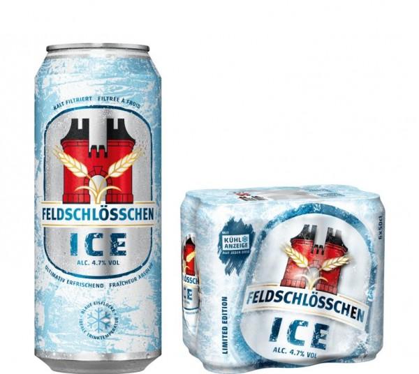 Feldschlösschen ICE Kalt Filtriert Dose 500 ml / 4.7 % Schweiz