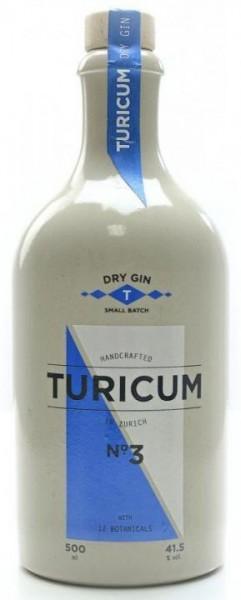 TURICUM Zürich Gin 50 cl / 41.5 % Schweiz