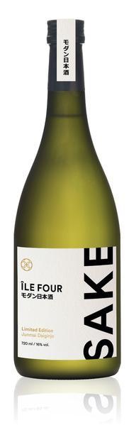 Sake ILE FOUR Modern Limited Edition «Junmai DaiGinjo» 72 cl / 16 % Japan