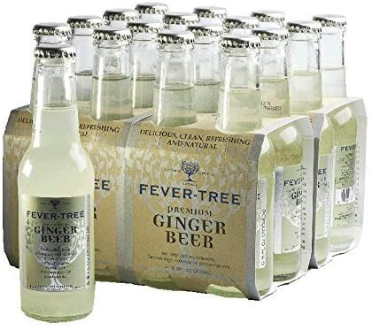 FEVER-TREE Ginger Beer Kiste 24 x 200 ml UK