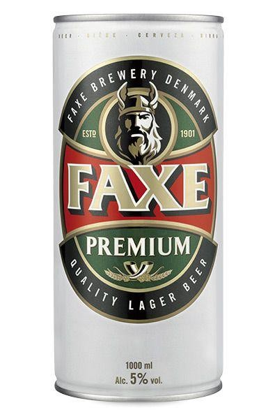 FAXE Premium Lager 1 Liter / 5 % Dänemark