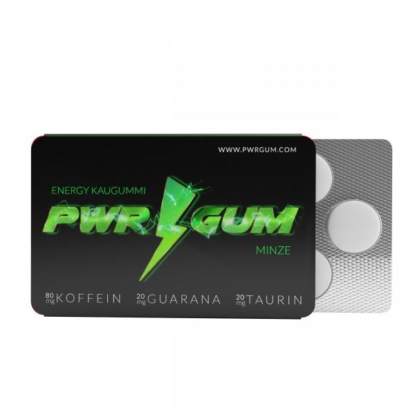 PWRGUM Kaugummi Pack mit 7 Stück Deutschland