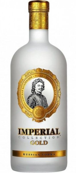 Imperial Collection Gold Vodka 70 cl / 40 % Russland