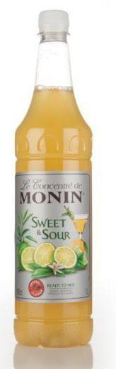 MONIN Sweet & Sour Konzentrat 1 Liter Frankreich