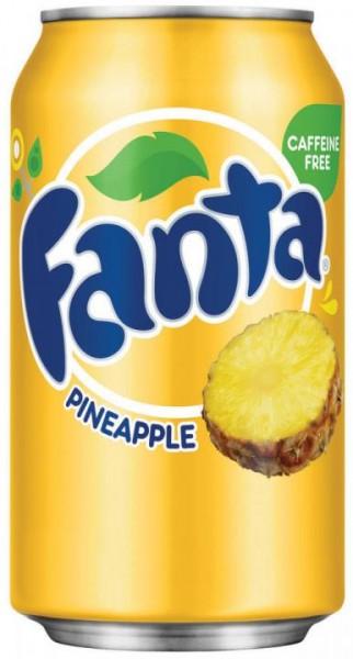 Fanta Pineapple 355 ml USA