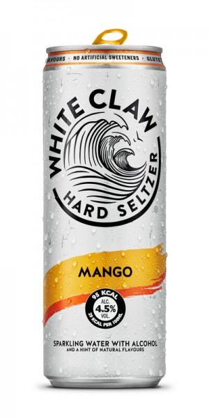 White Claw HARD SELTZER MANGO 330 ml / 4.5 % EU