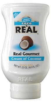 REAL COCO Gourmet Cream of Coconut - Kokoscreme 500 ml USA