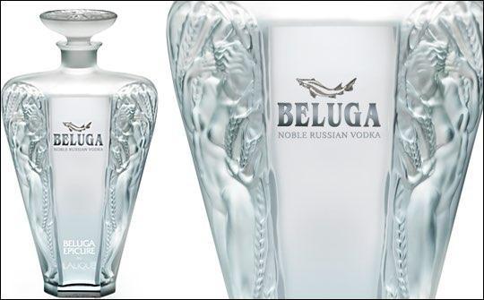 BELUGA EPICURE by LALIQUE Special Edition Vodka 70 cl / 40 % Russland