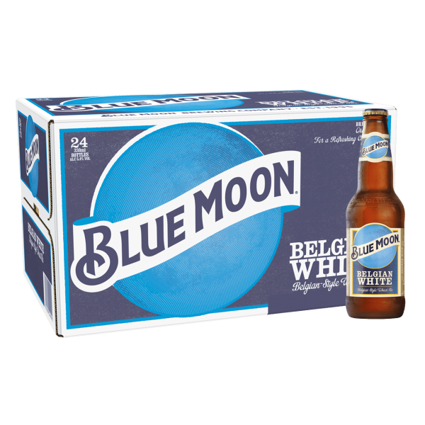 BLUE MOON Wheat Beer Kiste 24 x 355 ml / 5.4 % USA