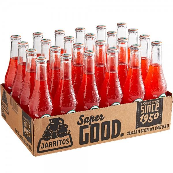 JARRITOS Fruit Punch natural flavor soda Kiste 24 x 370 ml Mexiko