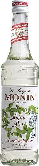 MONIN Premium Mojito Mint Sirup 70 cl Frankreich