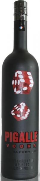 Pigalle ULTRA Premium Vodka GRAPS GAME DESIGN 4.5 Liter / 42.6 % Frankreich