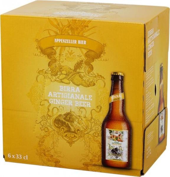 Appenzeller GINGER BEER Case 24 x 330 ml / 2.4 % Schweiz