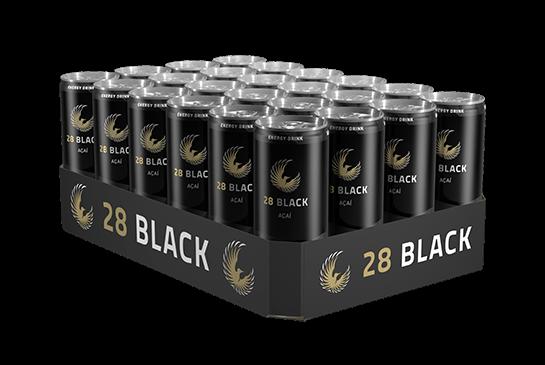28 BLACK AÇAÍ Energy Drink Kiste 24 x 250 ml Deutschland