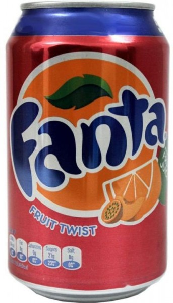 Fanta Fruit Twist 330 ml UK