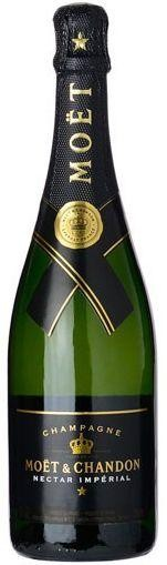 Moet & Chandon Nectar Imperial Demi - Sec Champagne 75 cl / 12% Frankreich